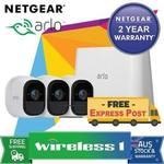 NetGear 3 Camera System Arlo Pro - Indoor/Outdoor Wire-Free @ $740.05 wireless1_eshop eBay