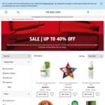 Free Shipping - No Minimum Spend - Items from $7 Delivered @ The Body Shop