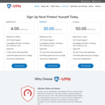 E-VPN - 40% Discount on All VPN Plans Using Promo Code: SAVE40