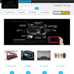 DIY Auto Diagnostic Scanners LED Headlights GPS Trackers + More - 15% off Store Wide @ Autolines - Free Shipping Australia