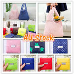 4 for $9.95 Foldable Shopping Bags Reusable Eco Grocery Carry Bag @ My_Online_Gift_shop eBay