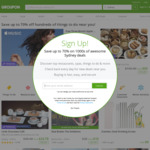 Groupon 10% off Sitewide Ends Midnight, Unlimited Redemptions, Max Discount $40