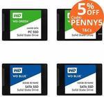 [eBay Plus] Western Digital Green SSD 120GB $28.50 @ PC Byte eBay
