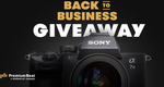 Win a Sony A7III Mirrorless Camera & Lens Worth $3,850 from PremiumBeat