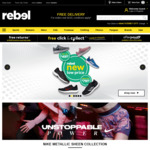 20% off Sitewide @ rebel (Online & In-Store)