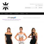 $20 off Active-Wear, Swimwear, Dresses, Tops, Bottoms, etc (Tops from $17) @ Fit Queens Boutique