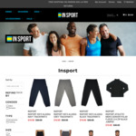 50% off Selected INSPORT Winter Clothing (Hoodies, Sweaters, Tights & Trackies) @ INSPORT