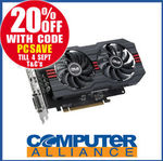 ASUS RX560 2GB Pcie OC Pcie Video Card $127.20 + $15 Delivery (Free with eBay Plus) @ Computer Alliance eBay