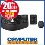 Microsoft Wireless Sculpt Ergonomic Keyboard and Mouse $103.20 + $15 Delivery (Free with eBay Plus) @ Computer Alliance eBay