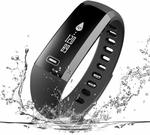 Read Fitness Tracker, Real Heart Rate Monitor, IP67 Waterproof Smart Bracelet $8.60 (Was $43) @ LUOKE via Amazon AU