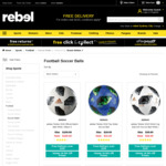 50% off Selected adidas World Cup Telstar 2018 Top Glider Soccer Balls - $15 (Was $29.99) (Free C&C or + Delivery) @ rebel