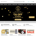 $36 off on $120 Spend Sitewide (Free C&C) @ Cellarmasters + 15% Cashback via Cashrewards