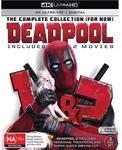 Deadpool Double Pack 4K $26.38 (was $32.98) @ JB Hi-Fi