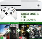 Xbox One S 1TB Forza Console + 4 Games $299 @ EB Games