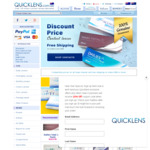20% off Orders over $98 @ Quicklens