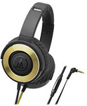 Audio-Technica ATH-WS550iS Solid Bass Headphones $79 Shipped @ PC Case Gear