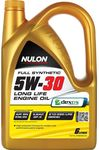 Nulon Full Synthetic 5W-30 Engine Oil 6L $34.99 (Was $69.99) @ Supercheap Auto