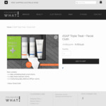 ASAP Triple Treat Skin Care Pack - $74.90 for First 10 Orders (RRP $153) + Free Shipping Australia Wide @ You Saved What