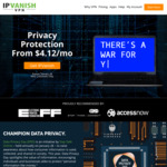 IPVanish VPN $99 (~AU $138) for 2 years VPN (66% off)
