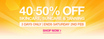 40-50% off RRP Skincare, Suncare & Tanning Products (Some Exclusions) @ Priceline