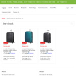 Samsonite Lite-Shock Suitcase from $250 (Was $579) Delivered @ Luggage Online