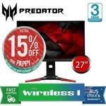 "[eBay Plus] Acer Predator XB271HU 27"" WQHD G-Sync IPS 144hz Gaming Monitor $735.25 Delivered @ Wireless1 eBay"
