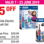 Oral-B Vitality Kids Electric Toothbrush Set $24.99 (Was $39.99) @ Costco (Membership Required)