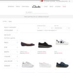 Further 20% off All Sale Shoes - Kids Shoes from $20, Adults Shoes from $50 @ Clarks.com.au