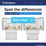 Win 1 of 3 Westinghouse 681L Stainless Steel French Door Fridges Worth $3,199 from Electrolux