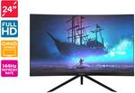 """Kogan 24"""" Full HD Curved VA 1800R 144Hz Freesync Gaming Monitor (1920 x 1080) $209 Shipped @ Kogan"""