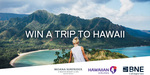 Win a Trip to Hawaii for 2 from Brisbane Airport (QLD)