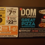 (Tuesdays Only) Buy 1 New Yorker/Premium/Traditional Pizza & Get 1 Traditional/Value Free @ Domino's
