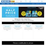 Half Price Belong Starter Kit: $25 Kit for $12.50, $40 Kit for $20 at The Good Guys (Instore Only)