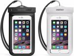 CHOETECH [2-Pack] Waterproof Phone Case $6.99 + Delivery ($0 with Prime/ $39 Spend) @ Choetech via Amazon AU