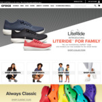 50% off Everything (Including Sale)  / No Min Spend / Free Delivery @ Crocs Australia