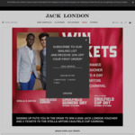 Win a $500 Jack London Gift Voucher & Caulfield Cup Double Pass from Jack London