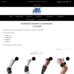 Runners Therapy by Shock Doctor - 2 for $30 (or $19.95ea) - Save up to $90 (+ $15 Shipping or $0 C&C Perth) @ Jim Kidd Sports