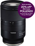 Tamron 28-75mm F/2.8 Di III RXD - Sony (E-Mount) $1135.20 (Including Delivery) @ Camerastore-Australia eBay