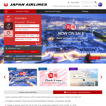 Premium Economy: 5* Japan Airlines eg Sydney to Frankfurt, Helsinki, Paris or London from $2328 Return @ JAL