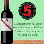 McLaren Vale Shiraz at $177.60/Dozen ($14.80/Bottle) (Delivered) Skye Cellars
