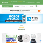 Robot Specialist: Free Shipping on All Robot Vacuum Machines, Filters, Parts and Accessories (Normally Min. $99 Spend)