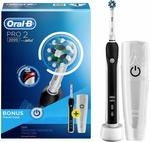 Oral-B PRO 2 2000 Electric Rechargeable Toothbrush (Black) $69.99 Delivered @ Amazon AU