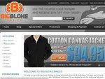 15% OFF All Purchases - Flat Rate Shipping $9.95 - BigBlokeBasics.com.au