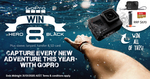 Win a GoPro HERO8 & Accessories Worth $670 from Wild Earth