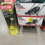 Ozito Electric Mower and Line Trimmer Kit $40 @ Bunnings
