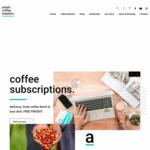 50% off 1st Order on Coffee Subscription @ Artisti Coffee Roasters