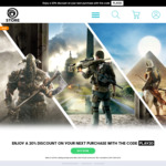 20% off PC Games on UPlay (Excluding Pre Orders and Virtual Currency) @ Ubisoft