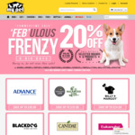 20% off Selected Brands & Products + Free Delivery Over $49 @ My Pet Warehouse