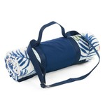 1.7m Fleece Picnic Rug Colour Stripe / Palm Leaf  $10 (Was $20), Beach Collapsible Soft Cooler 36 Can $14 (Was $29) @ Target