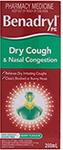 Amcal: $9.99 Benadryl Dry Cough & Nasal Congestion - 200ml